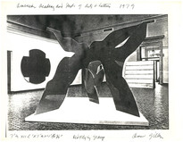 Invitational Exhibition American Academy of Art and Letter 1979, recommended by sculpter Cosantino Nivola