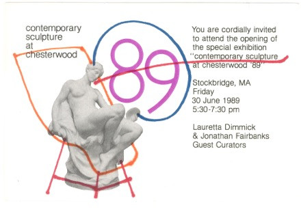 Chesterwood Exhibition 1989, Stockbridge, MA.