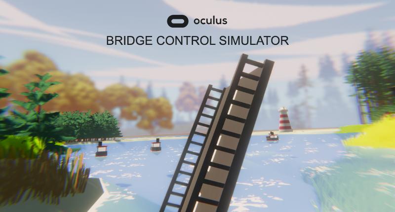 Oculus bridge control simulator