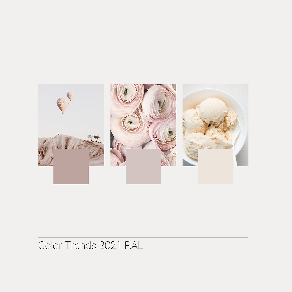 Blush, Pink, Color Trends, 2021