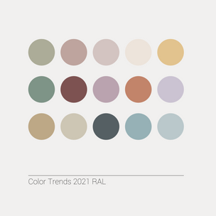 Color Trends 2021 RAL