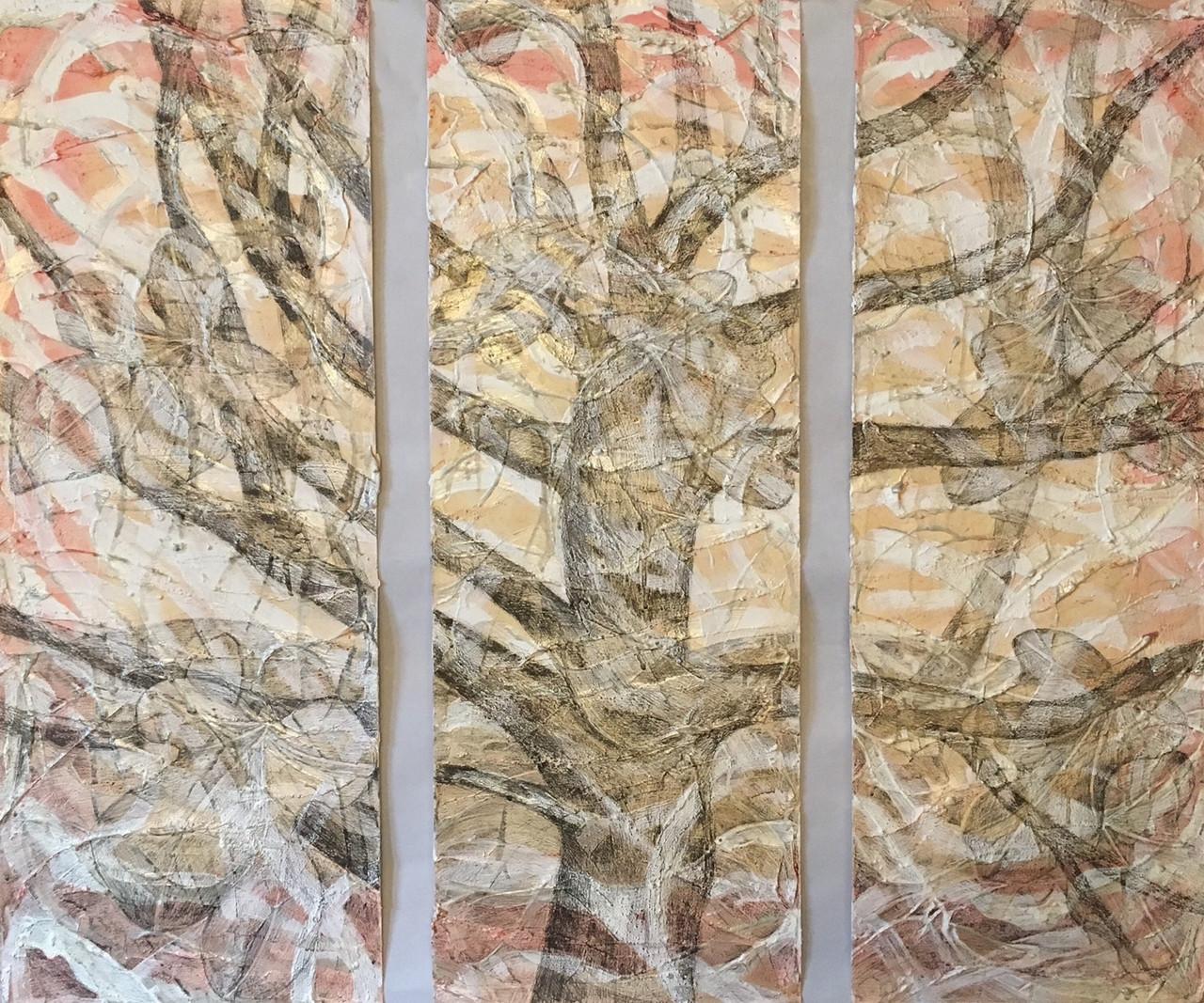 Betti Pettinati-Longinotti (Winston-Salem, NC), Fig Tree: Autumn, 2017