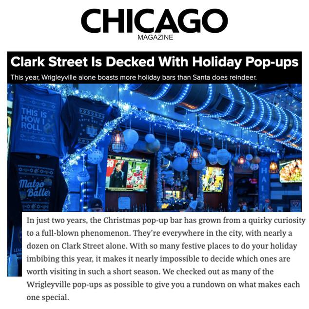 8 Crazy Nights in Chicago Magazine