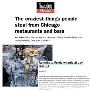 Joy District in TimeOut