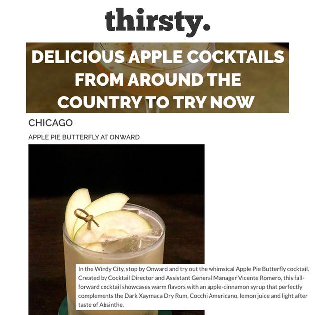 Onward in Thirsty Magazine