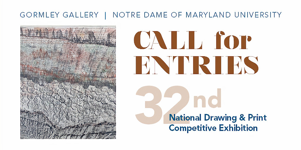 Call for Entries: 32nd National Drawing & Print Competitive Exhibition