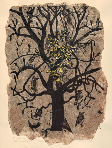 Ann Zahn (Bethesda, MD), The Persimmon Tree, 2015