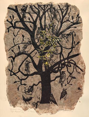 Ann Zahn (Bethesda, MD), The Persimmon Tree, 2015