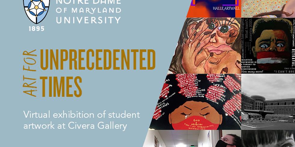 Artists' Reception - Art for Unprecedented Times