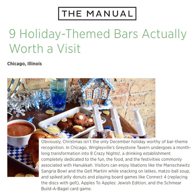 8 Crazy Nights in The Manual