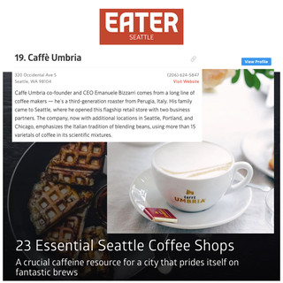 Caffe Umbria in Eater Seattle