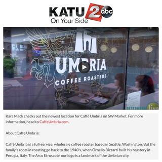 Caffe Umbria on Portland Afternoon
