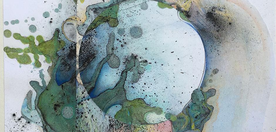 """Janet Maher, """"Gaia: Origin #2,"""" 2019"""