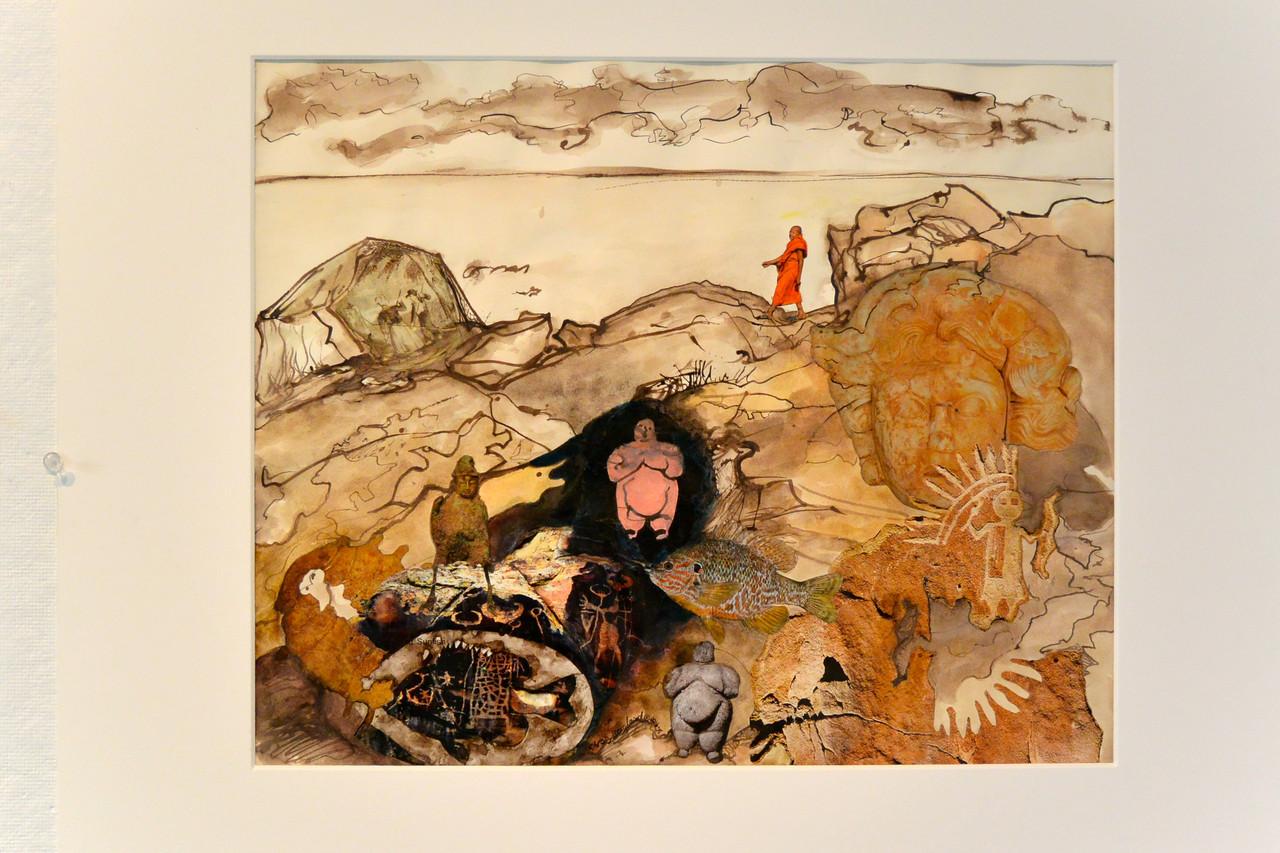 Christy Bergland (Baltimore, MD), Mining the Rocks in Biddeford, Maine #3, 2017