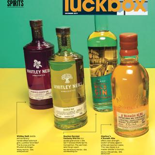 Aberlour in Luckbox Magazine (print)