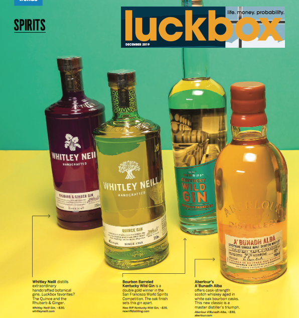 Aberlour in Luckbox Magazine (print)