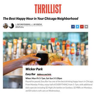 Easy Bar in Thrillist