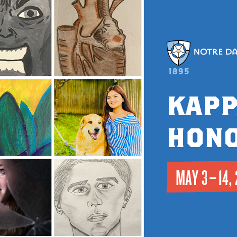 Kappa Pi Induction and Artists' Reception