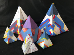 Sanzi Kermes (Baltimore, MD), Pyramid, 2018