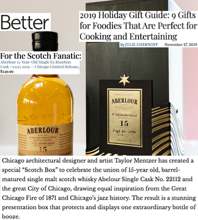 Aberlour in Better Magazine