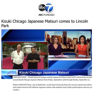 Kizuki on ABC 7 Chicago