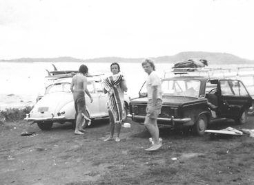 1974 Sam, Simon, John _ Point Plummer.jp