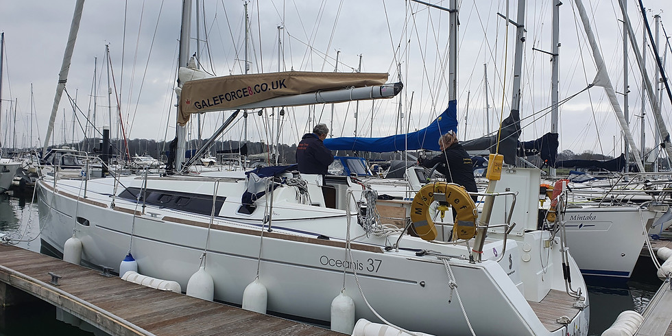 Sailing this weekend from Hamble Marina to Isle of Wight