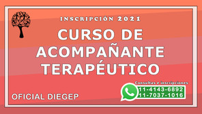 Curso de Acompañante Terapéutico - Marzo 2021