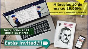 """Charla informativa sobre la carrera de  """"Operador en Psicología Social""""."""
