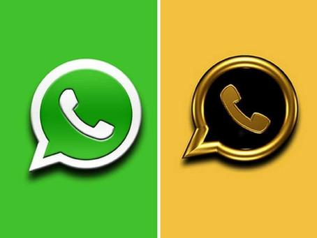 """Si recibís una notificación sobre """"WhatsApp Gold"""", ¡No caigas en la trampa!"""