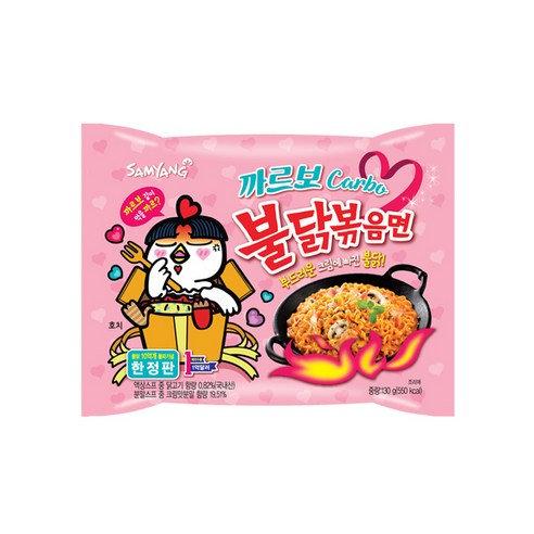【三養】カルボブルダック炒め麺130g x1個