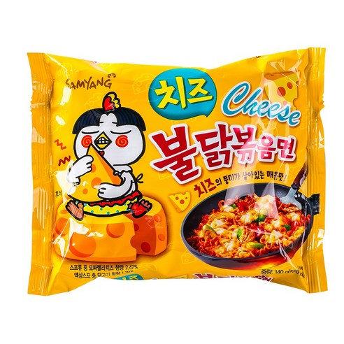 【三養】チーズブルダック炒め麺130g x1個