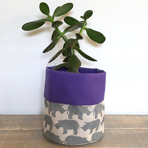Rhino Fabric Pot
