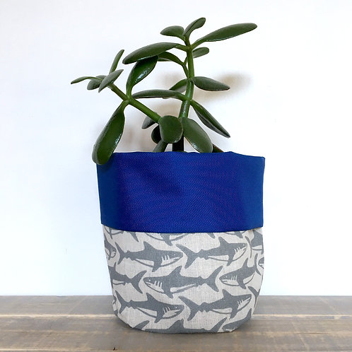 Shark Fabric Pot