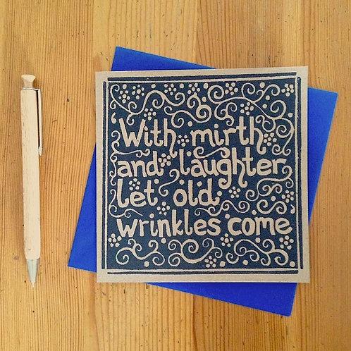 Wrinkles Card