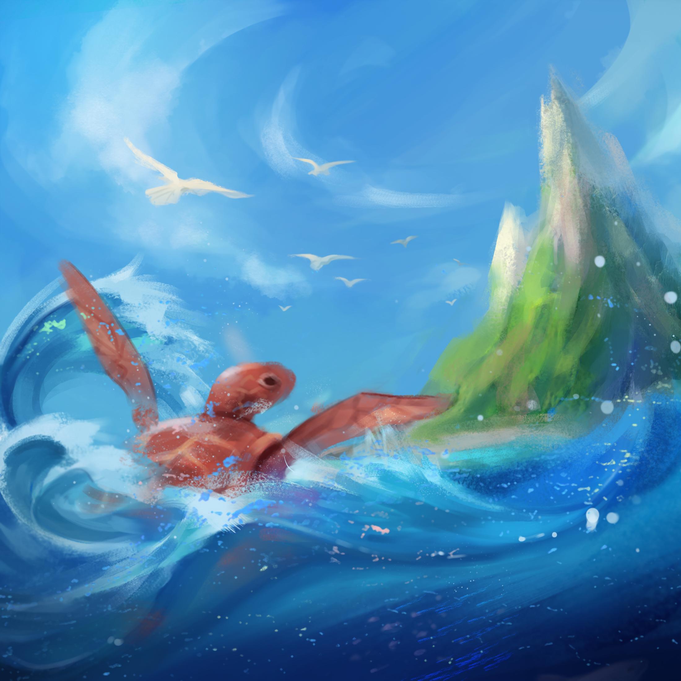 붉은바다거북