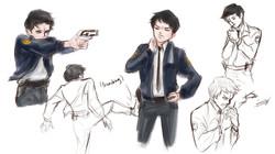 NPC sketches