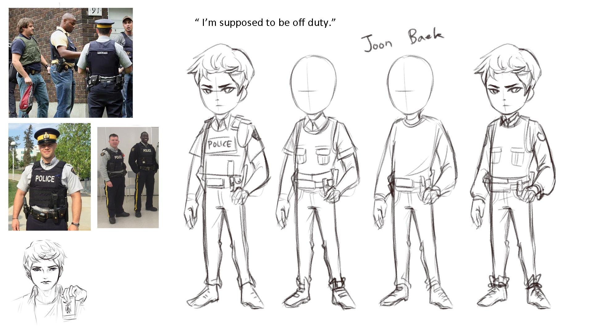 NPC sketches2
