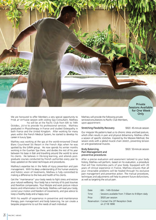 www.myfrenchphysio.com- Consultant at the Pacific Club Hong Kong