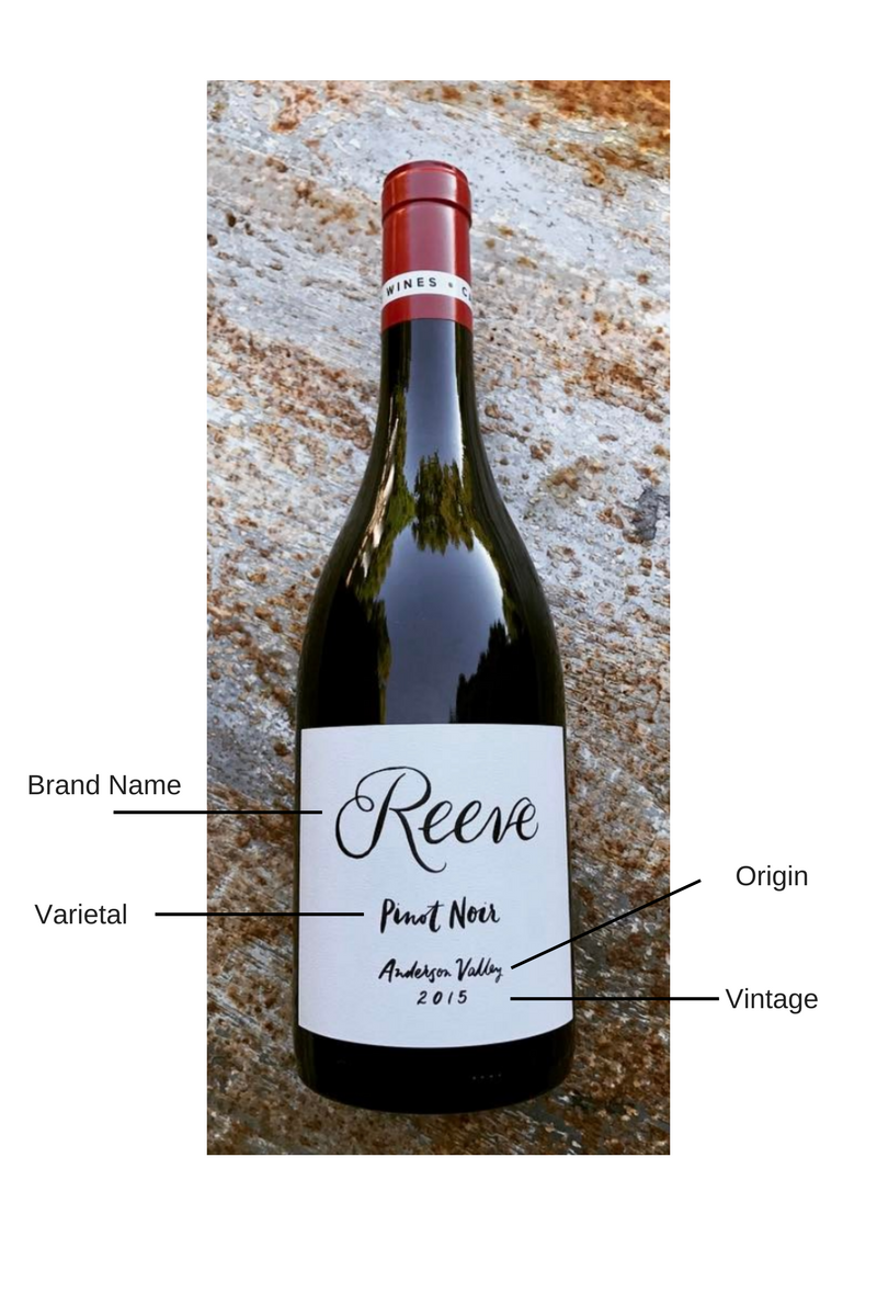 Reeve Pinot Noir Anderson Valley 2015