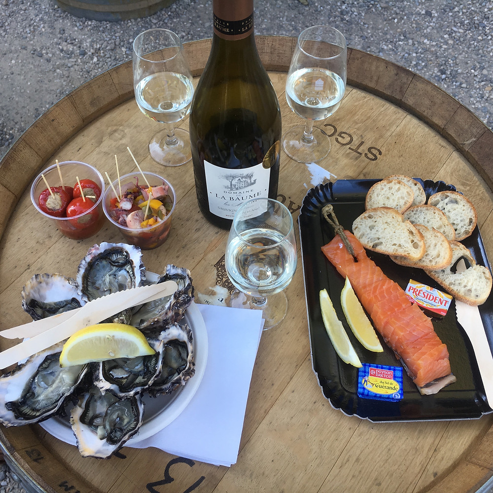 Perfect Apéritif - Sauvignon Blanc and seafood