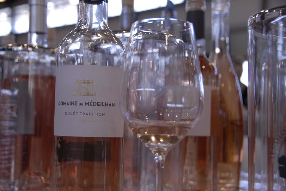 Bottle of Domaine de Médeilhan cuvée tradition rosé