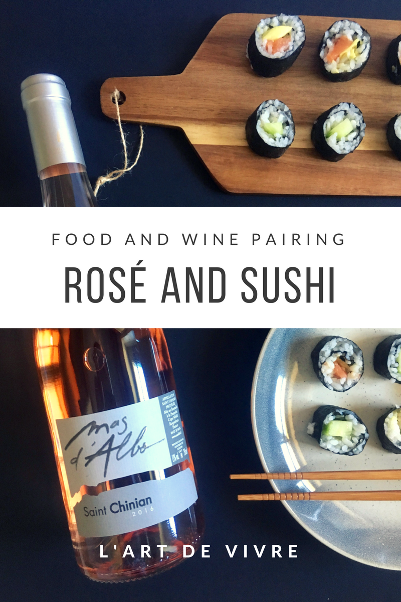 Rose and Sushi