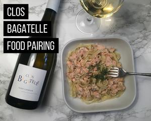 Clos Bagatelle food pairing