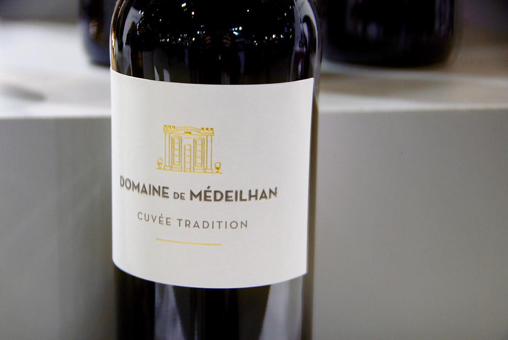 Bottle of Domaine de Médeilhan Cuvée Tradition rouge