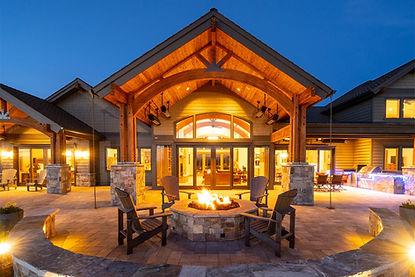 Custom home in Powell Butte Oregon