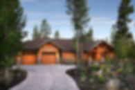 Custom home in Caldera Springs