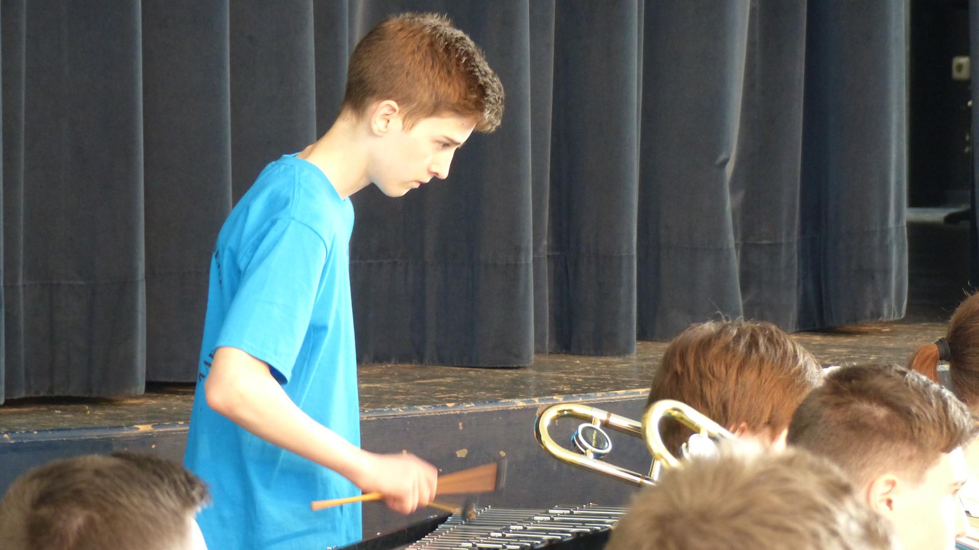 9. Das symphonische Blasorchester in Akt