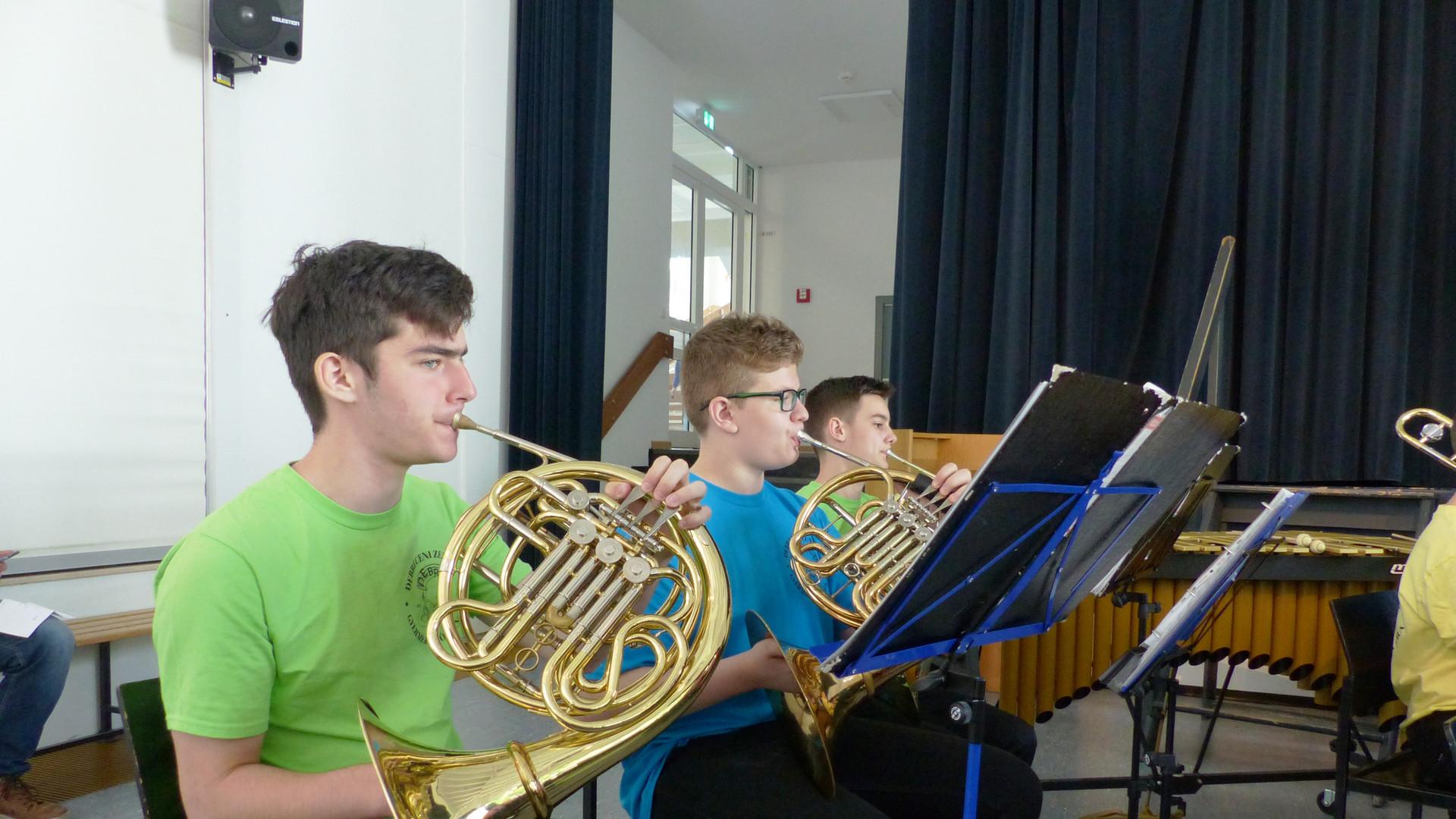 6. Das symphonische Blasorchester in Akt