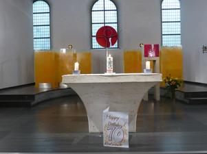 Gottesdienst zum 70jährigen Jubiläum